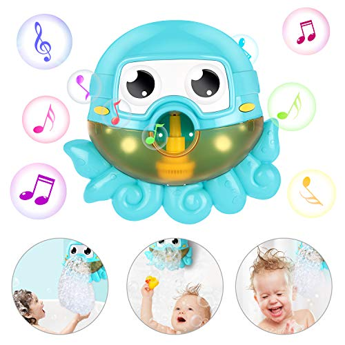 Gifort Máquina de Burbujas de Baño, Ducha de Niños Baño de Burbujas, Juguetes del Baño...