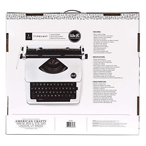 We R Memory Keepers Typisierungs-Schreibmaschine - Weiß