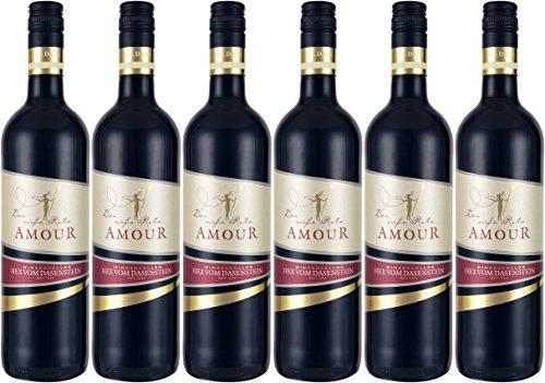 Hex vom Dasenstein AMOUR - der süße Rote Spätburgunder Rotwein QbA (6 x 0,75L)