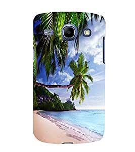 printtech Beach Hawaii Sea Back Case Cover for Samsung Galaxy A3 / Samsung Galaxy A3 A300F