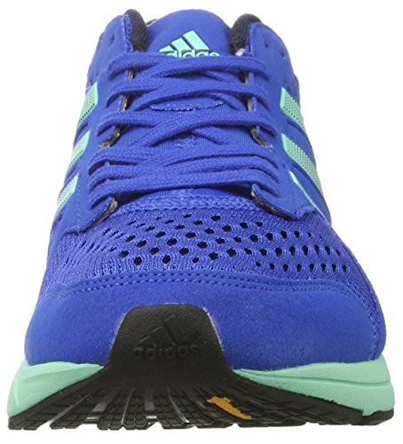 adidas Adizero Tempo M, Scarpe da Corsa Uomo Blu (Blue/night Navy/easy Green)