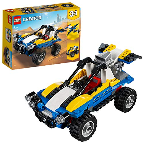 LEGO 31087 Creator 3-in-1 Dune Buggy Building Kit, Colourful Best Price and Cheapest
