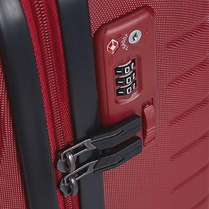51tILRz1TKL. SS416  - Hedgren HFO06W / 779-01 Fórmula Uno maleta, 42 cm, 38 litros, Negro / combo Red