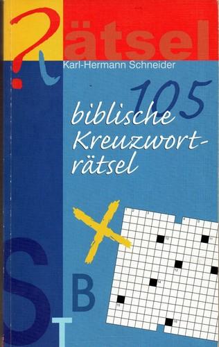 105 Biblische Kreuzworträtsel