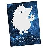 Mr. & Mrs. Panda Postkarte Igel Dankeschön - Igel, Danke,Dankeschön, Danke Sagen, Bedanken Postkarte, Geschenkkarte, Grußkarte, Karte, Einladung, Ansichtskarte, Sprüche