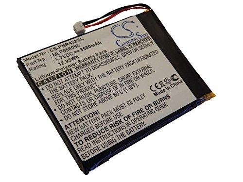 Batterie Li-Polymer vhbw 3500mAh (3.7V) pour Netbook, Tablette Pandigital Nova R70A200, R70B200, R70F452, R70F453, R80B400, R80B452.Remplace: MLP656095