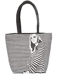 Paras Jute Women's Tote Bag (Black)