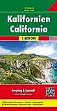 Kalifornien, Autokarte 1:600.000, freytag & berndt Auto + Freizeitkarten - Freytag-Berndt und Artaria KG