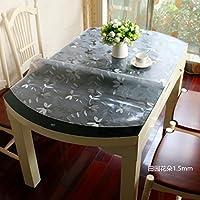 HL-PYL Mantel Oval Resistente al Agua, Aceite y Aceite, Mesa Ovalada,