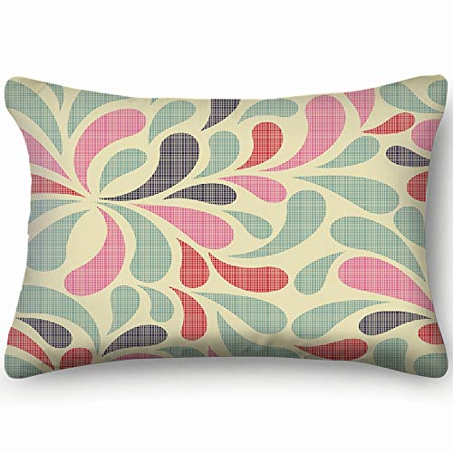 tuyi Colorful Abstract The Arts The Arts Throw Pillow Case Cushion Cover Double Side Design 20