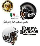 Autocollant Harley Davidson Motorcycles pour casque d'occasion  Livré partout en Belgique