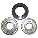 Spares2go cartucho de rodamiento de tambor retén de aceite kit para lavadoras Miele (6306z & 6305Z SKF tipo)