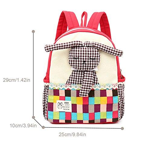 Imagen de fristone  para niños bebés  para niños con conejo mascotas para guardería niños roja  alternativa