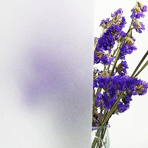 Concus-T Électrostatique Film Protége Intimité Dépoli de Fenêtre Décoratif Intimité Film pour vitrage 45*200cm