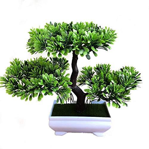 Künstlicher Ganoderma Lucidum Baum Mit Blumentopf Outdoor - Hochwertiger Kunstbonsai Kunststoff Bonsai Home Dekor Für Haus Garten Party Blumenschmuck Restaurantdekoration Von Sommer's Laden