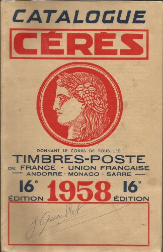 Catalogue ceres 1958 par Collectif