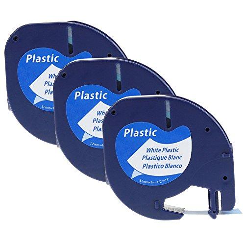 lot-de-3-ruban-adhesif-pour-etiqueteuse-dymo-letratag-91201-s0721610-plastique-noir-sur-blanc-12mm-x