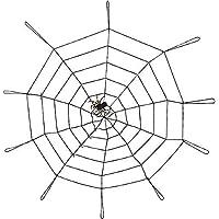Beneary Decorazione di Halloween Web di Ragni giganti di 150 cm 4c5ed135698c