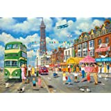 Gibsons Blackpool Promenade Jigsaw Puzzle 500 Pieces