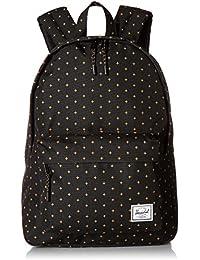 Herschel Classic Backpack - Black Gridlock Gold