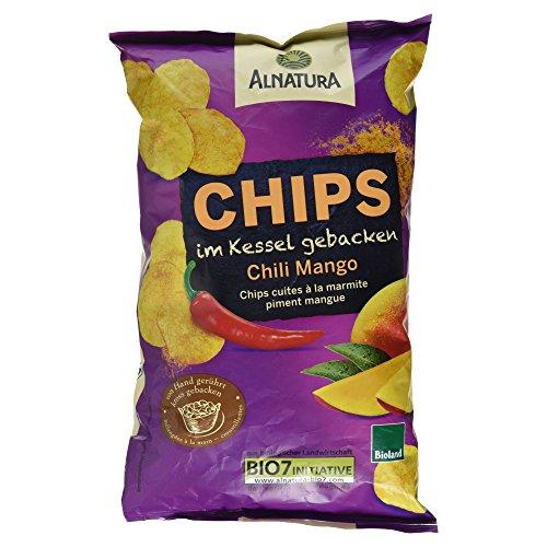 Alnatura Bio Chips im Kessel gebacken Chili-Mango