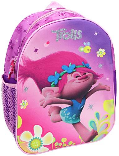 TROLLS Mochila para niños con Motivos de Poppy de DreamWorks