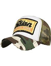 Kobay Cappelli di Maglia Hip-Hop Ricamati Estate Cappelli per Uomo Donna  Cappelli Casuali 546ada81270e
