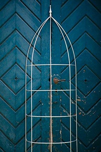 Halbrunde Rankhilfe, Rankgerüst, Verzinkt, Höhe: 200 cm, Volleisen Rankgitter