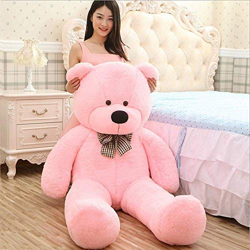 Jesper Branded Teddy Bear Valentines Day - 3 Feet (91 cm, Pink) - Click for More Size and Colors