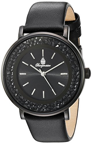 Burgmeister BM537-622, Ladies watch, Analogue display, Quartz with Citizen Movement - Water resistant, Stylish leather strap, Elegant women's watch