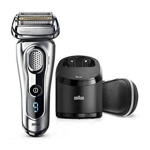 Braun Series 9 9291cc Wet&Dry Máquina de afeitar de láminas Recortadora Plata - Afeitadora (Máquina de afeitar de láminas, Plata, Batería, 100-240, 157 mm, 157 mm)