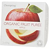 Clearspring Orgánica de Apple puré 2 x 100g