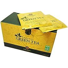 Organo Gold - Té verde orgánico con Ganoderma Lucidum (2 cajas con 25 bolsitas, 51,75 ml)