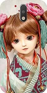Dot Print Cute Doll Printed Back Cover For Moto G Plus (4th Gen) / Moto G4 Plus