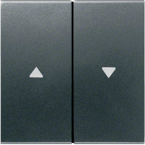 Preisvergleich Produktbild Hager Wippe anth WYA127 für Jalousie kallysto Abdeckung/Bedienelement für Installationsschalterprogramme 3250617020534