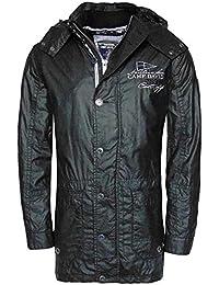 Camp David The Northern Sea Hombre Chaqueta Capucha Chaqueta Jacket abrigo negro