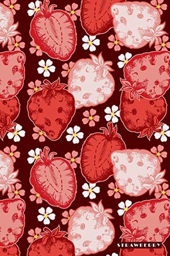 Paper Jam Kit (Strawberry: Sweet Juicy Red Fruit Jam Preserve Bullet Journal Dot Grid BuJo Daily Planner)