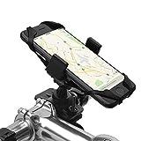 Supporto Bici Smartphone, Spigen Velo [Universale Regolabile][360° Visualizza Contenuto][2 Gomma Cinghie] Rotante Phone Holder Mount manubrio della bici della porta cellulare culla pinza - A250
