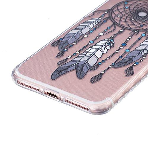 Voguecase® für Apple iPhone 6/6S 4.7 hülle, Anti-Rutsch Transparent Schutzhülle / Case / Cover / Hülle / TPU Gel Skin (Rutschfest/Faith) + Gratis Universal Eingabestift Rutschfest/Campanula Feder 14