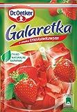 Götterspeise mit Erdbeergeschmack 77g von Dr. Oetker I Polnische Desserts & Backen