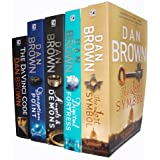 Dan Brown 5 Books Collection Set RRP £38.95 (The Lost Symbol, Digital Fortress, Angel & Demons, Deception Point, The Davinci Code)
