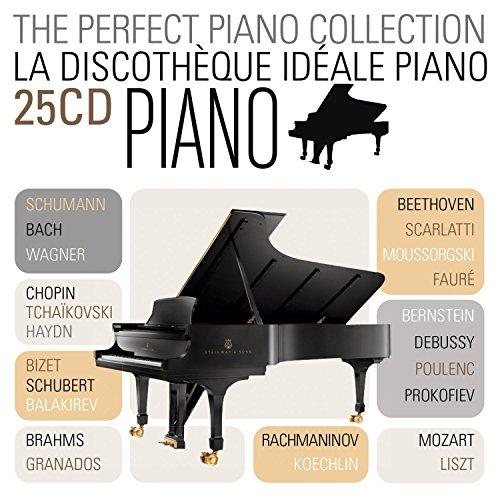La discothèque idéale du piano (Coffret 25 CD)
