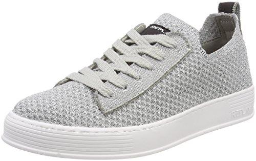 Replay Damen Portland Sneaker, Silber (Silver), 38 EU