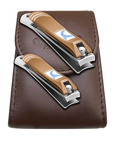 Nagelknipser - Nagelzange - Nagelzwicker - Nagelschneider - Nail Clipper - Geeignet für Fußnägel und Fingernägel - Fußnagelzange für tief eingewachsene Nägel - komfortable Handhabung - 2 Stück Set - 100%ige Zufriedenheitsgarantie