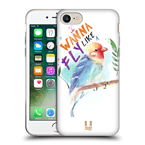 Head Case Designs Unbegrenztheitsstreifen Meine BFF Hüllen Soft Gel Hülle für Apple iPhone 6 / 6s Vogel