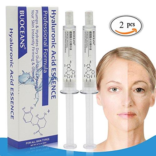Hyaluronsäure Serum, Anti Aging Serum, Anti-Wrinkle Serum, Gesichts Serum gegen Gesichtfalten,...