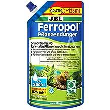 JBL Fertilizante para plantas Nachfuellpack para acuarios de agua dulce, Ferropol 625 ml, 23045