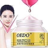 LanLan Crema per il viso Crema peptidale rosa rassodante viso crema snellente anti cellulite Cura della pelle Anti-età Crema antirughe anti rughe