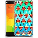Head Case Designs Watermelon Fruitsicles Soft Gel Case for Xiaomi Mi 4c / Mi 4i