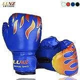 Luniquz Kinder Boxhandschuhe mit Klettschluss Klein Box-Handschuhe für Kinder von 3 - 10 Jahre Training Gloves 6 Unzen zum MMA